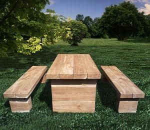 Dubový nábytek na zahradu - 1188116 -