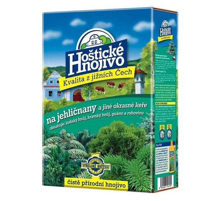 Hnojivo na jehličnany - HOŠTICKÉ HNOJIVO 1kg