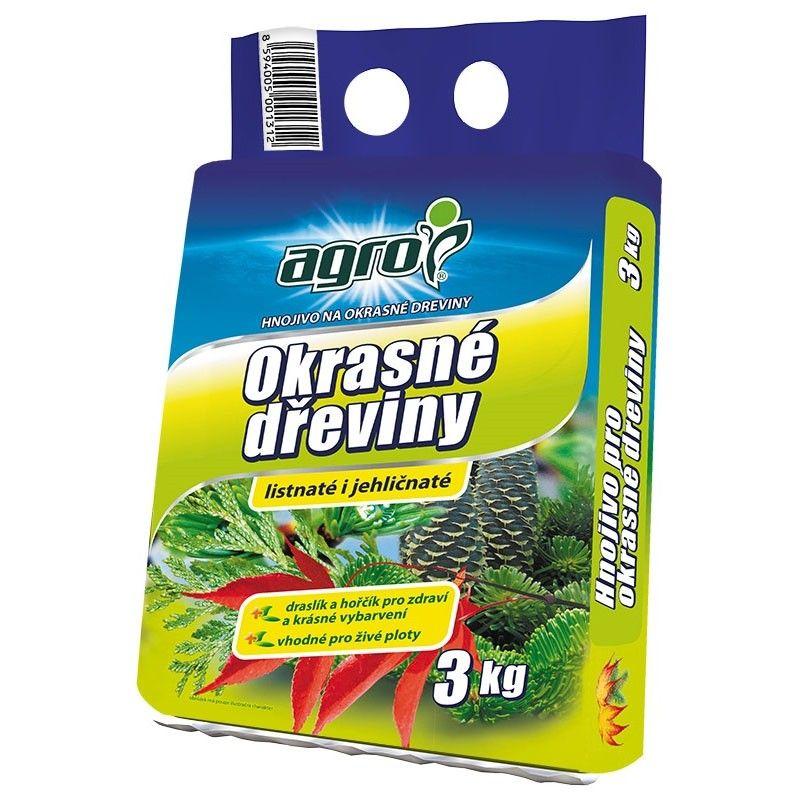Hnojivo na okrasné dřeviny - Agro 3kg Agro CS