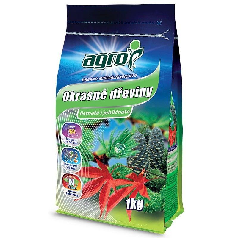 Hnojivo pro okrasné dřeviny - Agro 1kg Agro CS