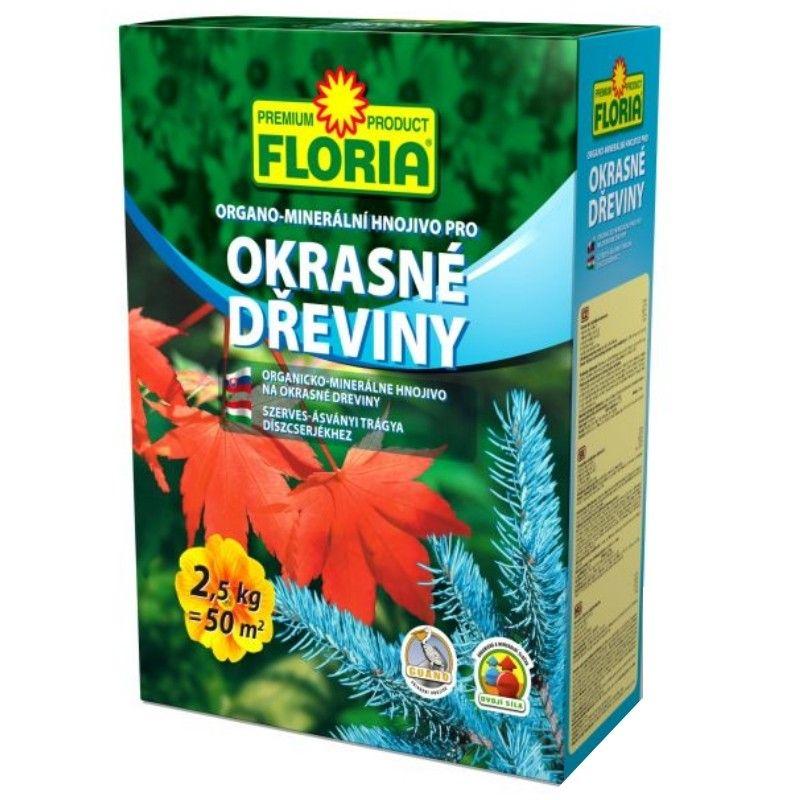Hnojivo pro okrasné dřeviny - Floria 2,5kg