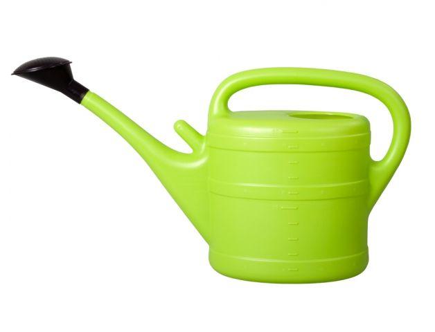 Konev s kropítkem plastová 10l (sv.zelená)