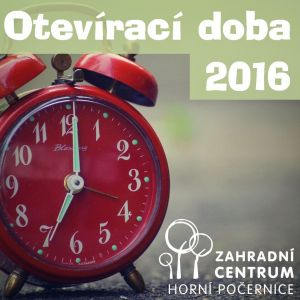 Otevírací doba pro rok 2016