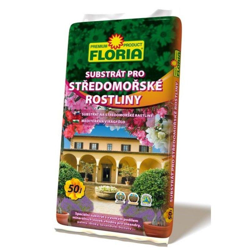Substrát pro středomořské rostliny - Floria 50l