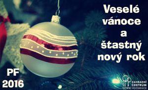 Veselé vánoce a Štastný nový rok 2016