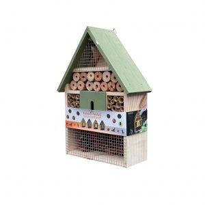 Domek dřevěný pro hmyz 30 cm