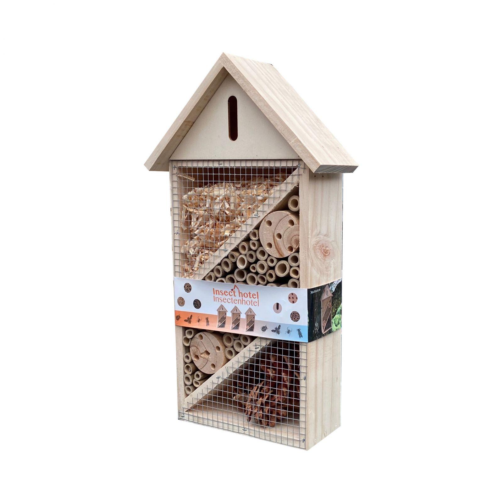 Dřevěný domek pro hmyz