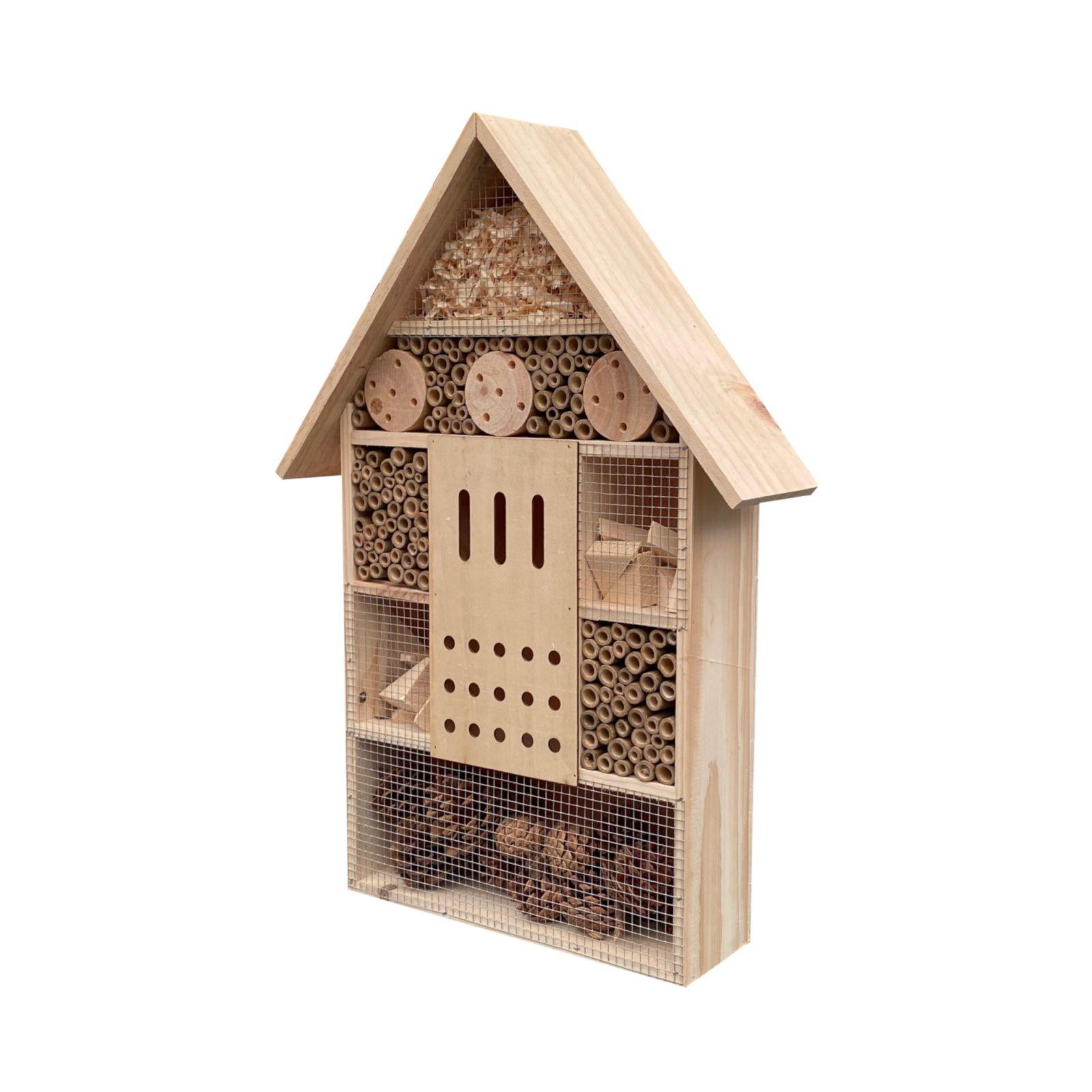 Dřevěný domek pro hmyz, velikost XL, 57 cm