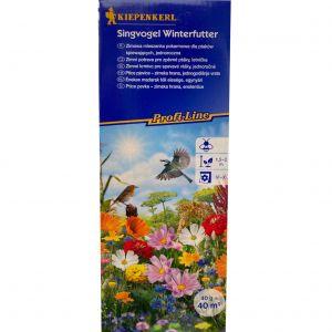 Zimní potrava zpěvného ptactva, květinová směs - Kiepenkerl